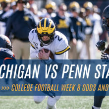 Michigan Wolverines vs Penn State Nittany Lions NCAAF Week 8 Betting Odds and Pick