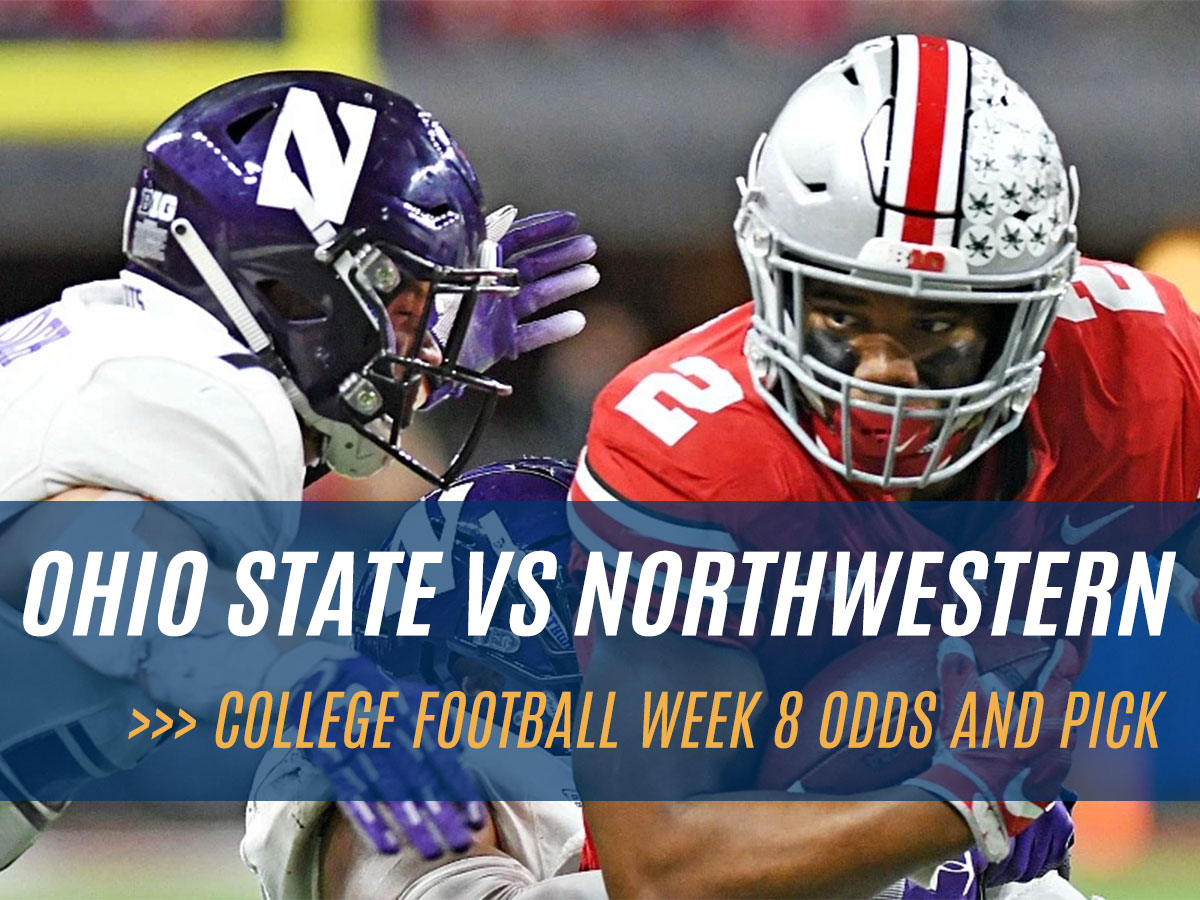 Ohio State Buckeyes vs Northwestern Wildcats NCAAF Week 8 Betting Odds and Pick