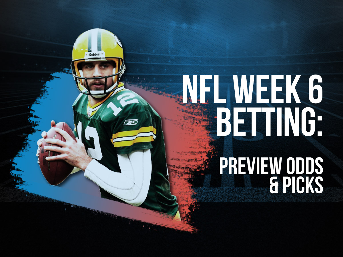 NFL Week 6 Betting Preview Odds