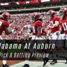Alabama At Auburn Betting Lines & Odds - College Football Week 14