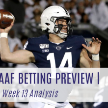 College Football Betting Preview Week 13 2019