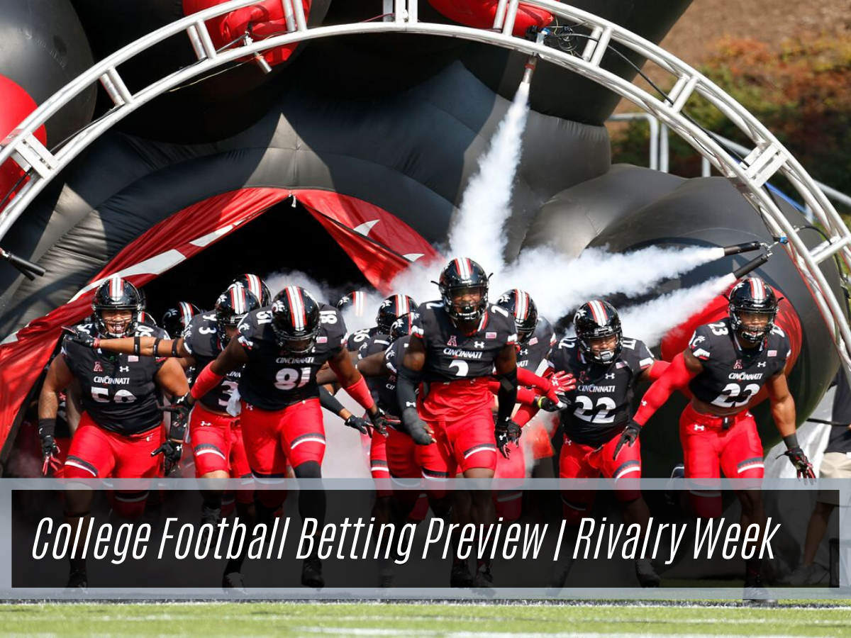 College Football Week 14 Top Games And Betting Odds