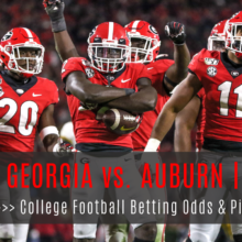Georgia At Auburn College Football Betting Lines And Pick