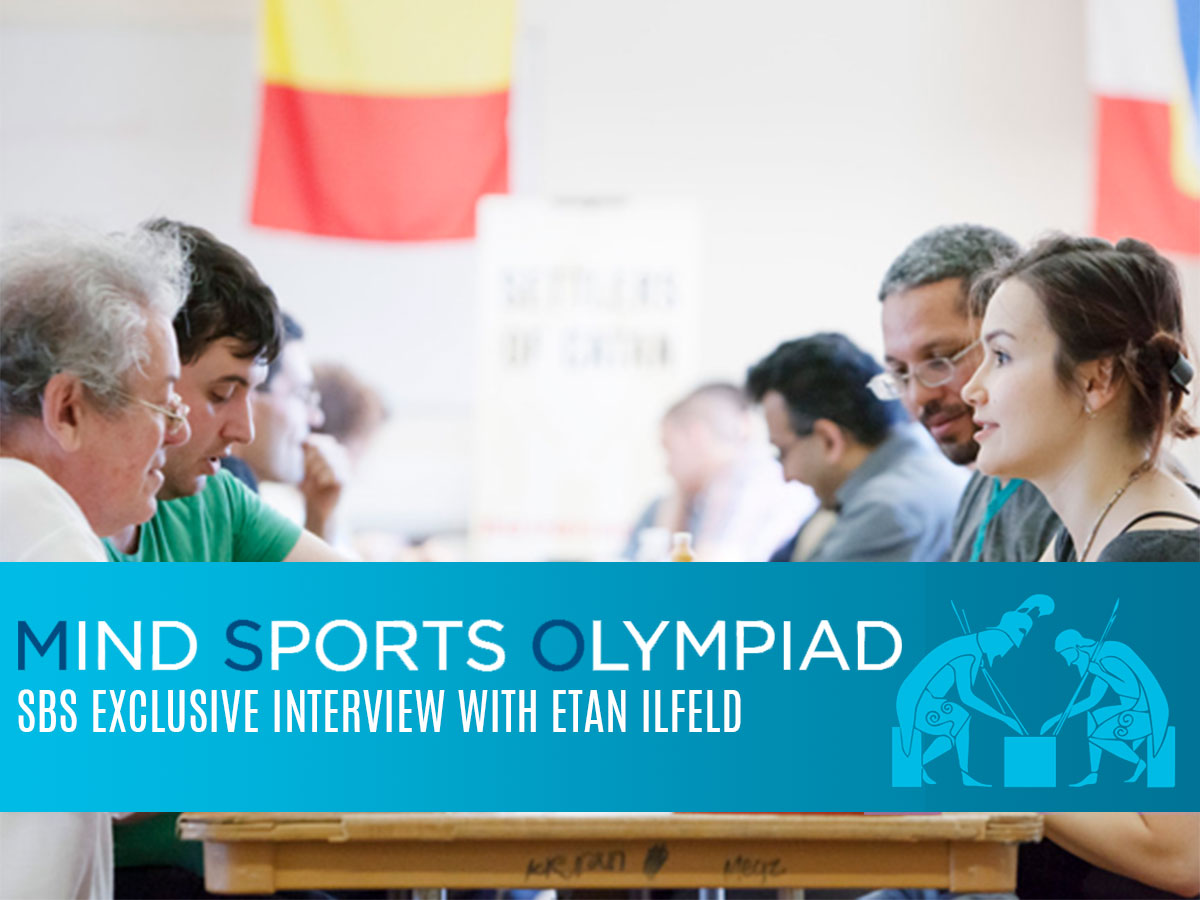 SBS Interview with Etan Ilfeld - Creator of Mind Sports Olympiad