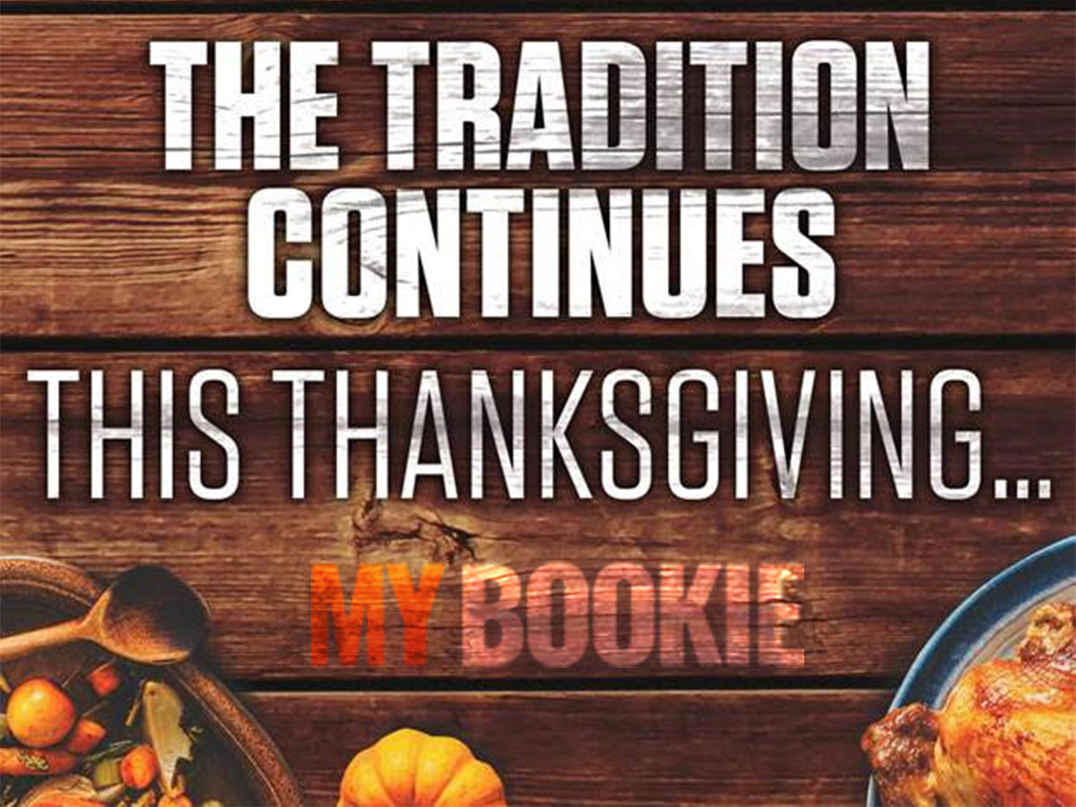 MyBookie Thanksgiving Bonus And Specials