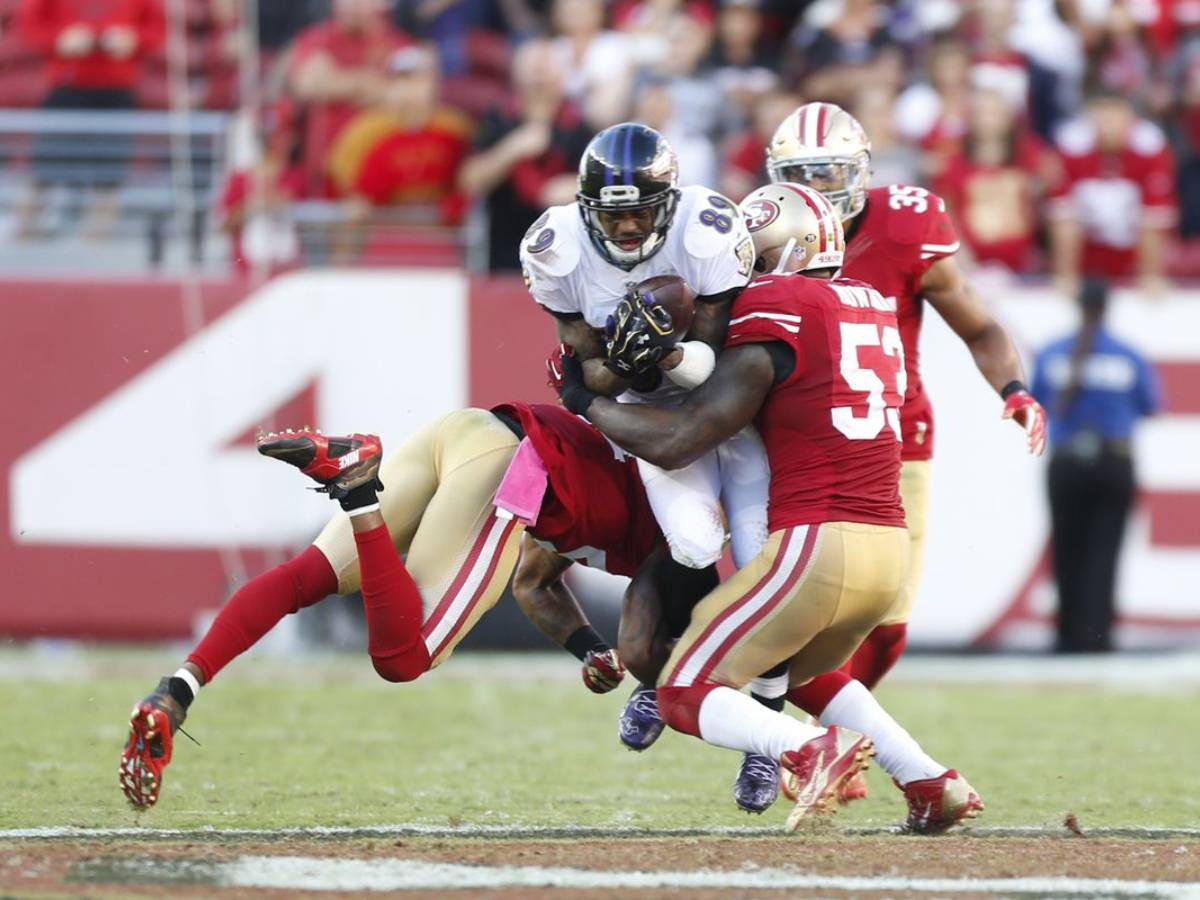 49ers ravens line betting sports melbourne city vs newcastle jets betting experts