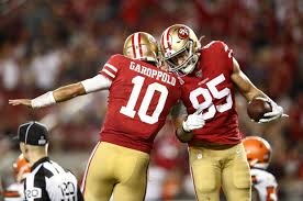 The San Francisco 49ers are now favorites  to win the NFC.