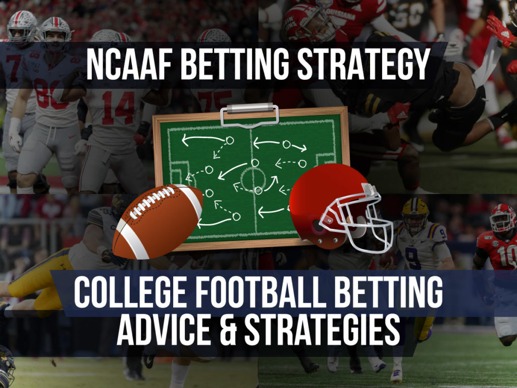 An NCAAF betting strategy is a structured approach to college football betting with the goal of producing a profit.