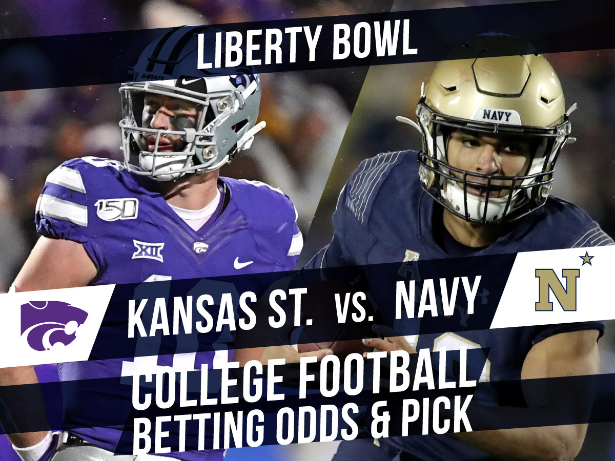 Betting on the Liberty Bowl: Kansas State Vs. Navy Betting Line & Pick
