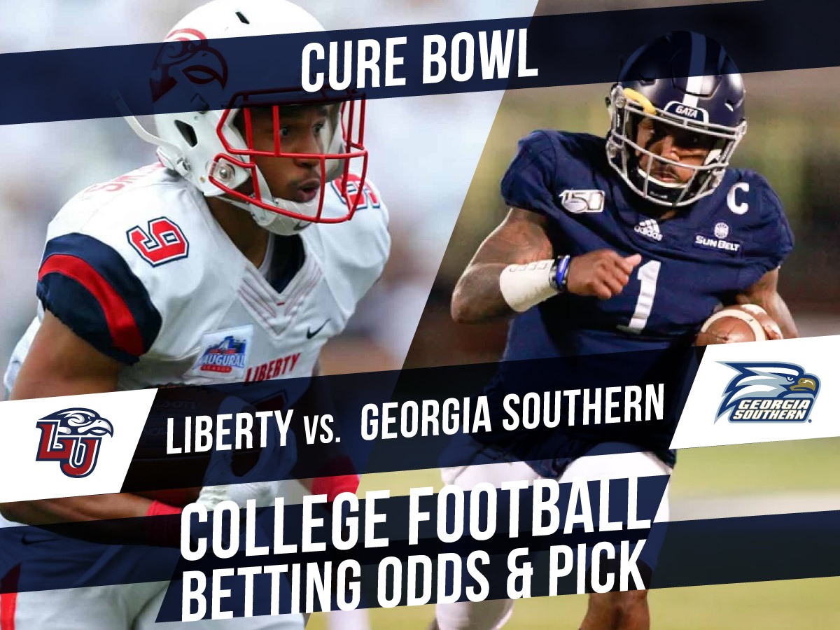 Betting on the Cure Bowl: Liberty Vs. Georgia Southern Betting Line & Pick