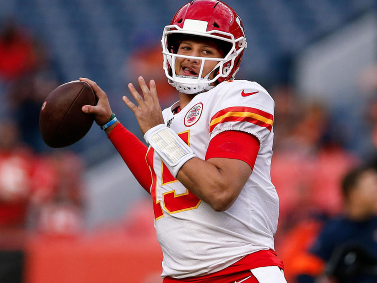 Mahomes ready to play after injury