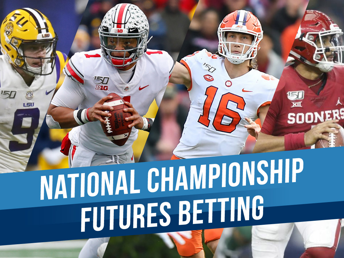Betting on the 2019-2020 College Football National Championship