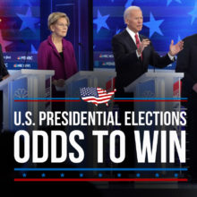 Most Recent Odds To Win The U.S. The Presidential Election