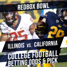 Redbox Bowl 2019 Illinois vs California Betting Line And Pick