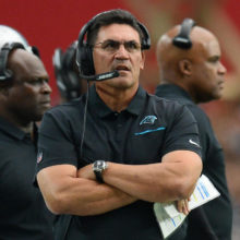 Ron Rivera want to continue coaching after being fired by the Carolina Panthers