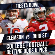 Fiesta Bowl Betting Line & Pick: Clemson Vs. Ohio