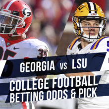 Georgia At LSU College Football Betting Odds & Pick