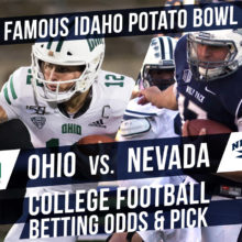 Betting on the Potato Bowl: Ohio Vs. Nevada Betting Line and Pick 2019