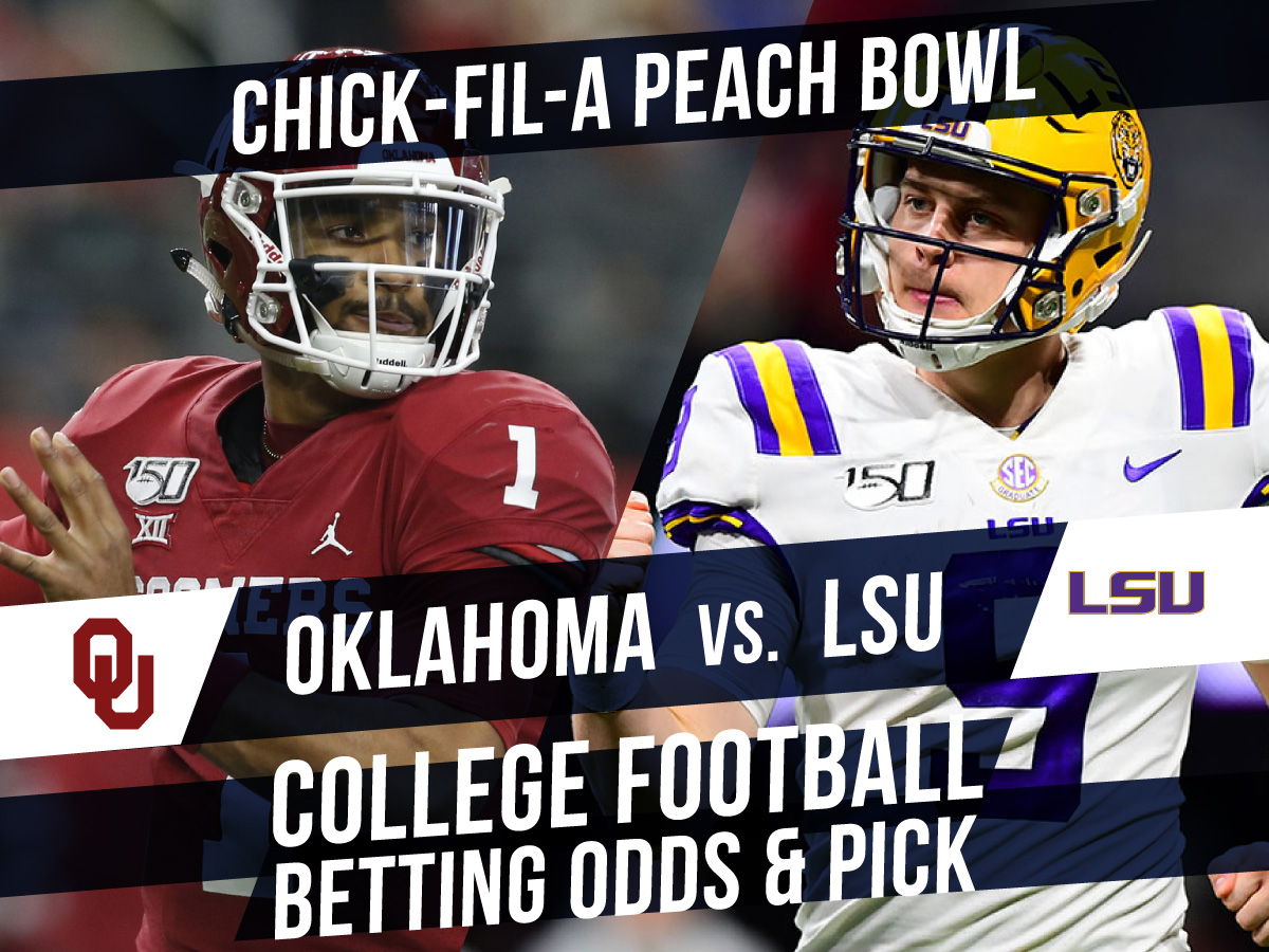 Betting on the Peach Bowl: Oklahoma Vs. LSU Betting Lines And Pick