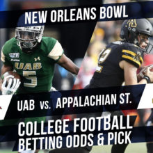 Betting on the New Orleans Bowl: UAB Vs. Appalachian State Betting Line & Pick