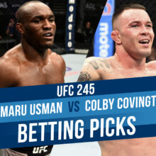 Usman Vs. Covington UFC 245 Expert Betting Picks And Odds