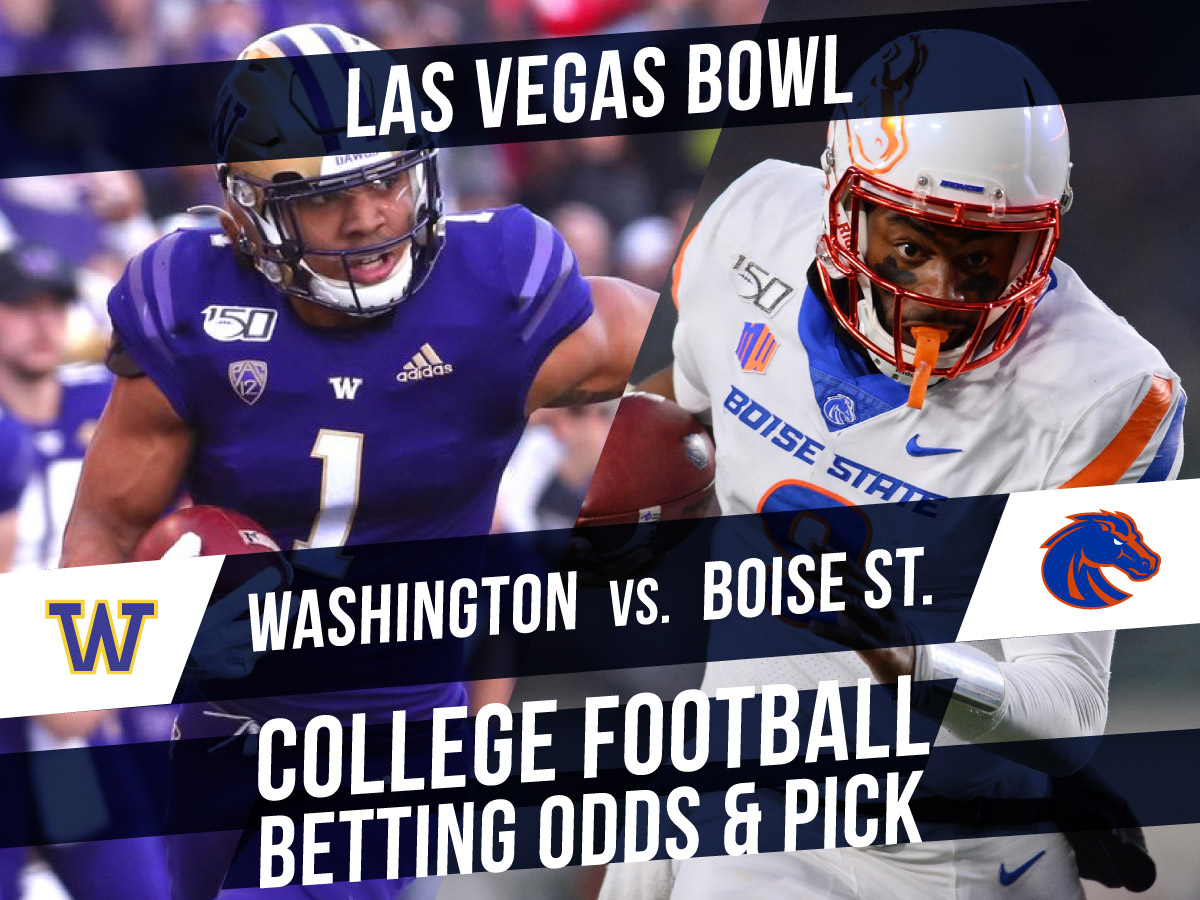 Betting on the Las Vegas Bowl: Washington Vs. Boise Lines & Pick