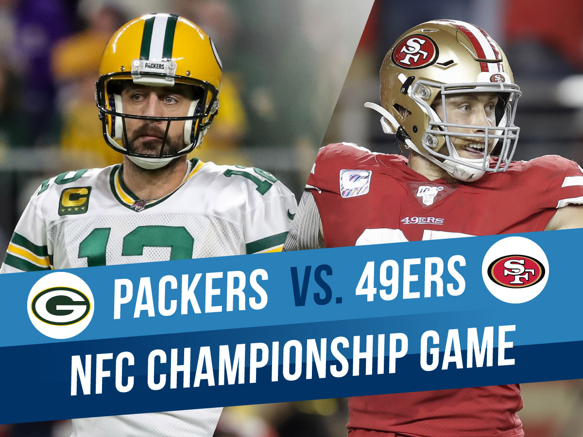 NFC Championship Packers Vs 49ers Game Picks & Betting Odds