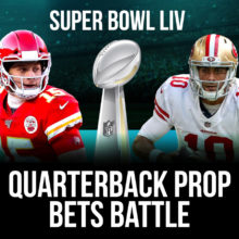 Patrick Mahomes And Jimmy Garoppolo - Super Bowl LIV Quarterback Prop Bets Battle