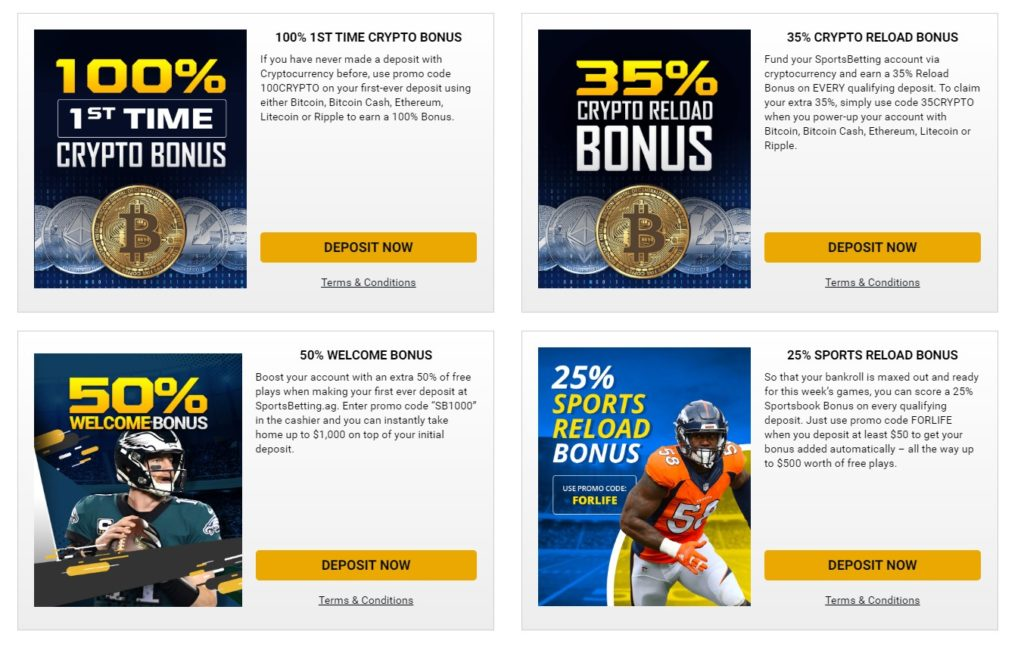 Sportsbetting Promo Codes and Bonuses