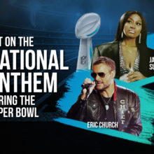 Super Bowl LV National Anthem Prop Bets