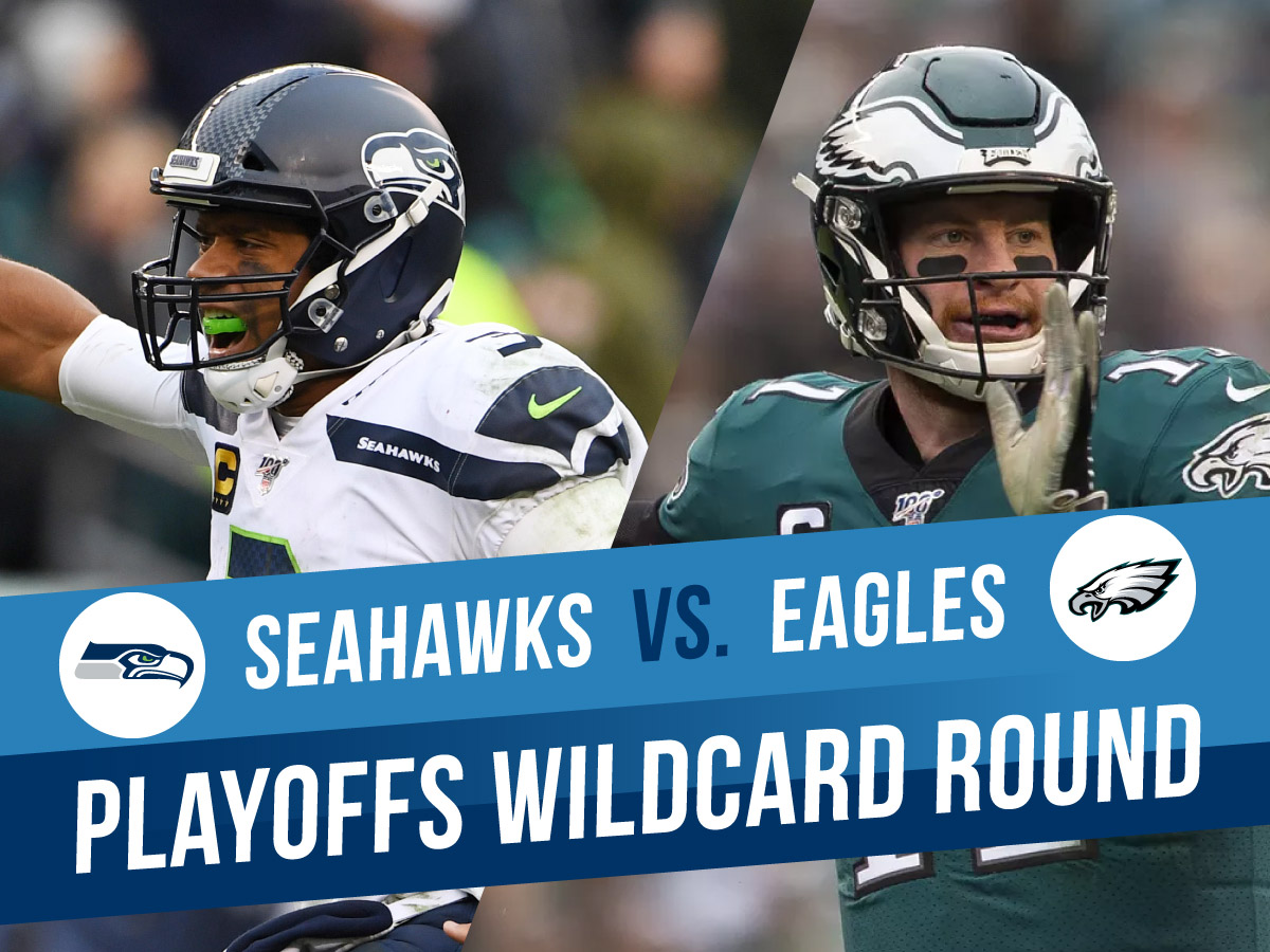 Seattle Seahawks Vs. Philadelphia Eagles NFL Playoffs Wildcard Betting Picks And Odds