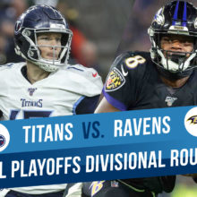 Tennessee Titans Vs. Baltimore Ravens NFL Divisional Playoffs Free Expert Betting Picks And Odds