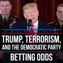 Trump, Terrorism, And The Democratic Party Political Betting Odds