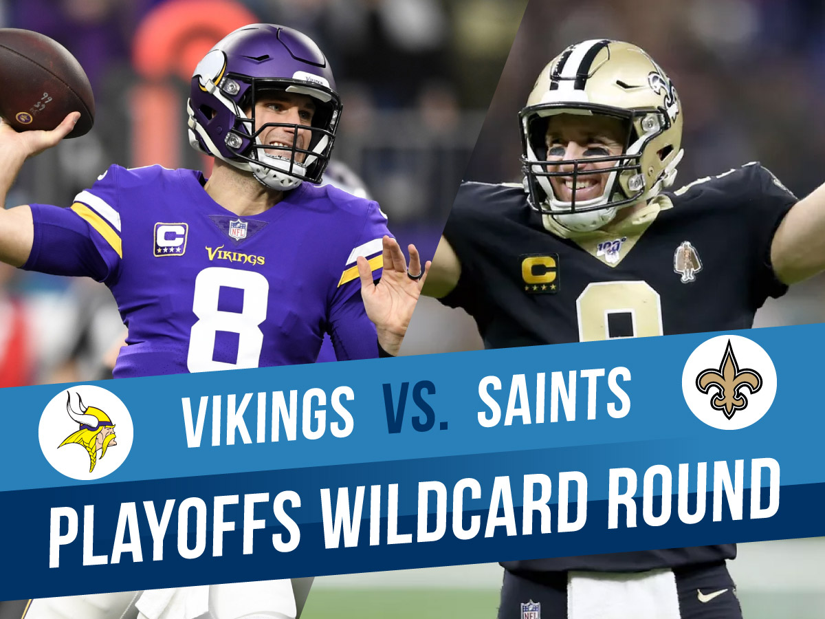 Minnesota Vikings at New Orleans Saints NFL Playoffs Expert Picks and Odds