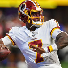 Dwayne Haskins might be Redskins starting quarterback