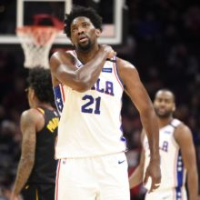 Joel Embiid's shoulder injury complicates the Philadelphia 76ers situation in the Eastern Conference