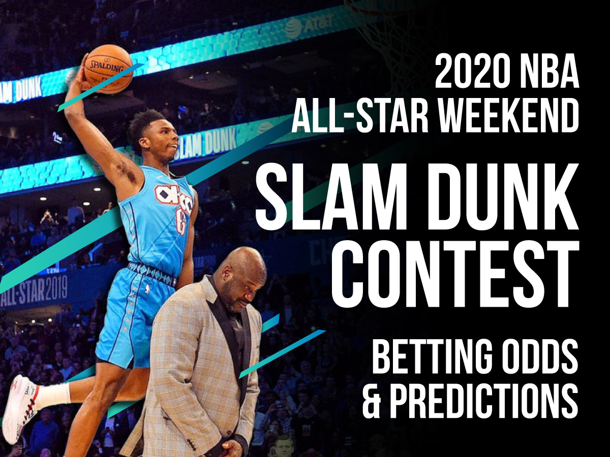 NBA Slam Dunk Contest Betting Odds & Prediction