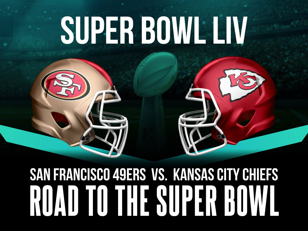 Road to Super Bowl 54 - Chiefs vs 49ers