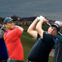 Tiger Woods and Peyton Manning Vs Phil Mickelson and Tom Brady golf match