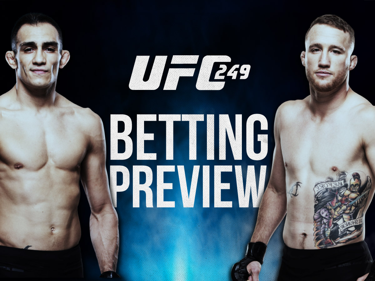 UFC 249 Betting Odds And Preview