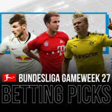 Bundesliga qameweek 27 betting picks