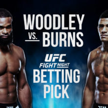 UFC Fight Night Woodley vs Burns Betting Picks