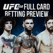 UFC 250 Full Card Betting Picks