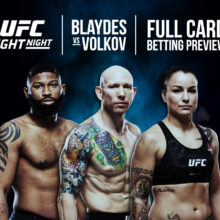 Blaydes vs Volkov Full Card Betting Preview