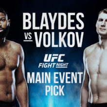 Blaydes Vs. Volkov Betting Picks