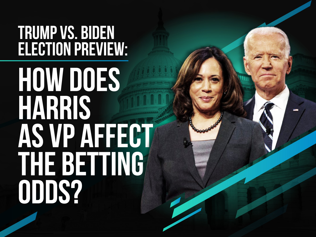 Trump Vs Biden Presidential Elections - How Will Kamala Harris as VP Affect The Odds