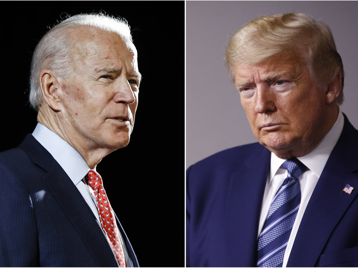 Joe Biden vs Donald Trump Presidential First Presidential Debate