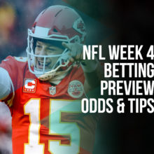 NFL Week 4 Betting Preview - Odds And Tips