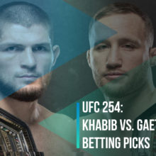 UFC 254 Khabib Nurmagomedov vs. Justin Gaethje Betting Picks