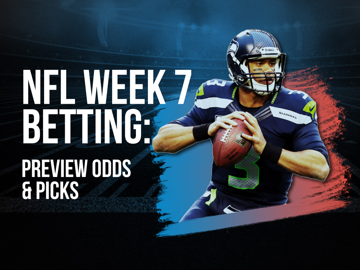 NFL Week 7 Betting Preview Odds